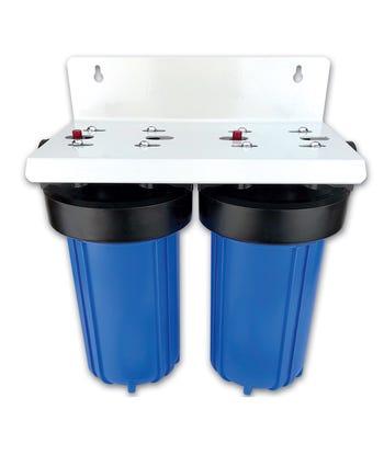 "10"" Jumbo High Flow Double Water Filter Housing"