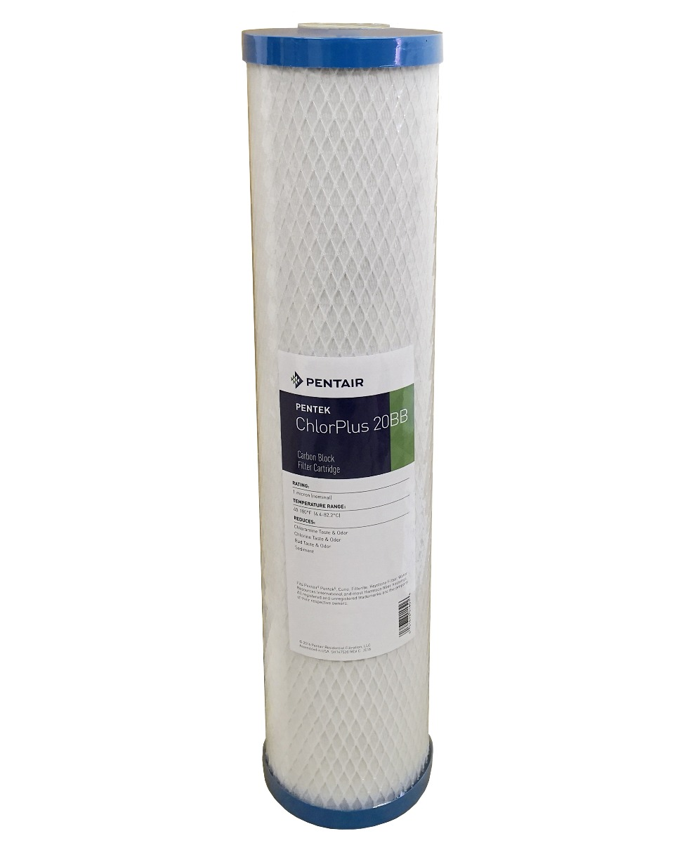 "Pentek CHLORPLUS 20"" Jumbo Carbon Block Filter"
