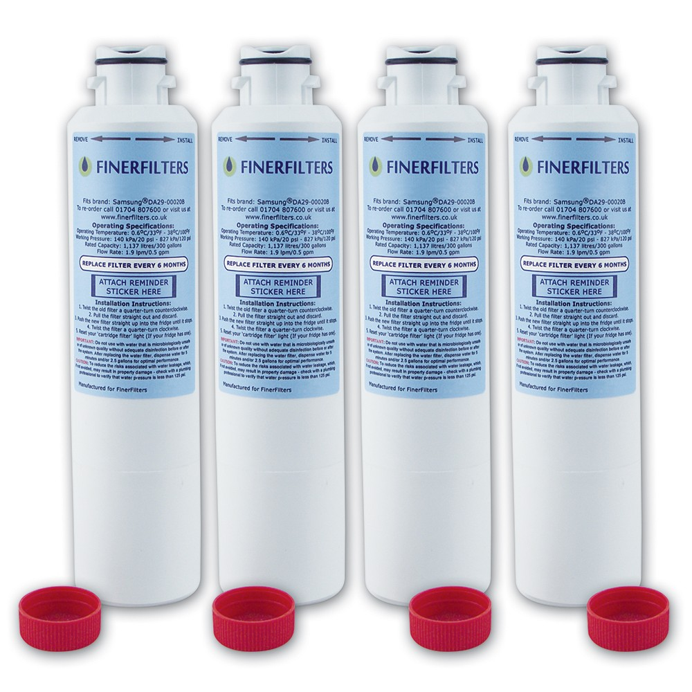 da2900020b fridge water filter compatible with samsung 4 pack