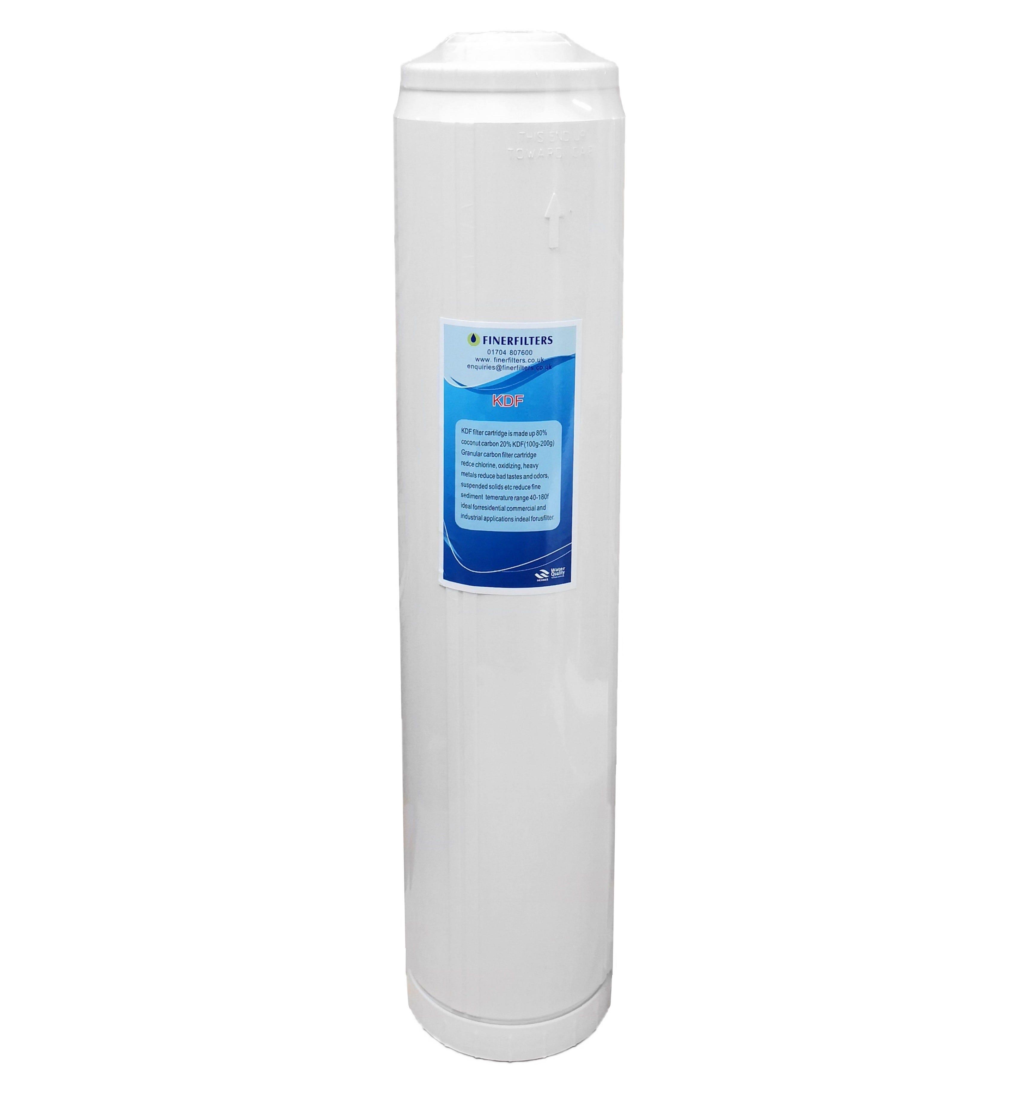 "Finerfilters 20"" x 4.5"" Jumbo GAC/KDF Water Filter"