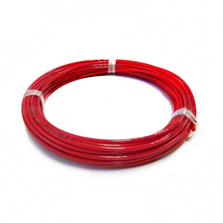"John Guest 1/4"" LLDPE Tubing - Red 5 Metre Length"