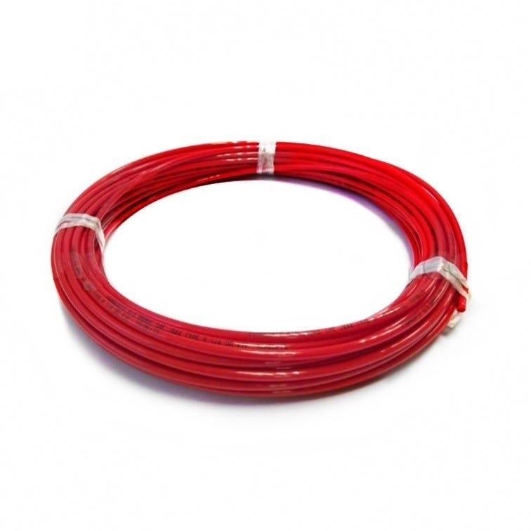 "John Guest 1/4"" LLDPE Tubing - Red 20 Metre Length"