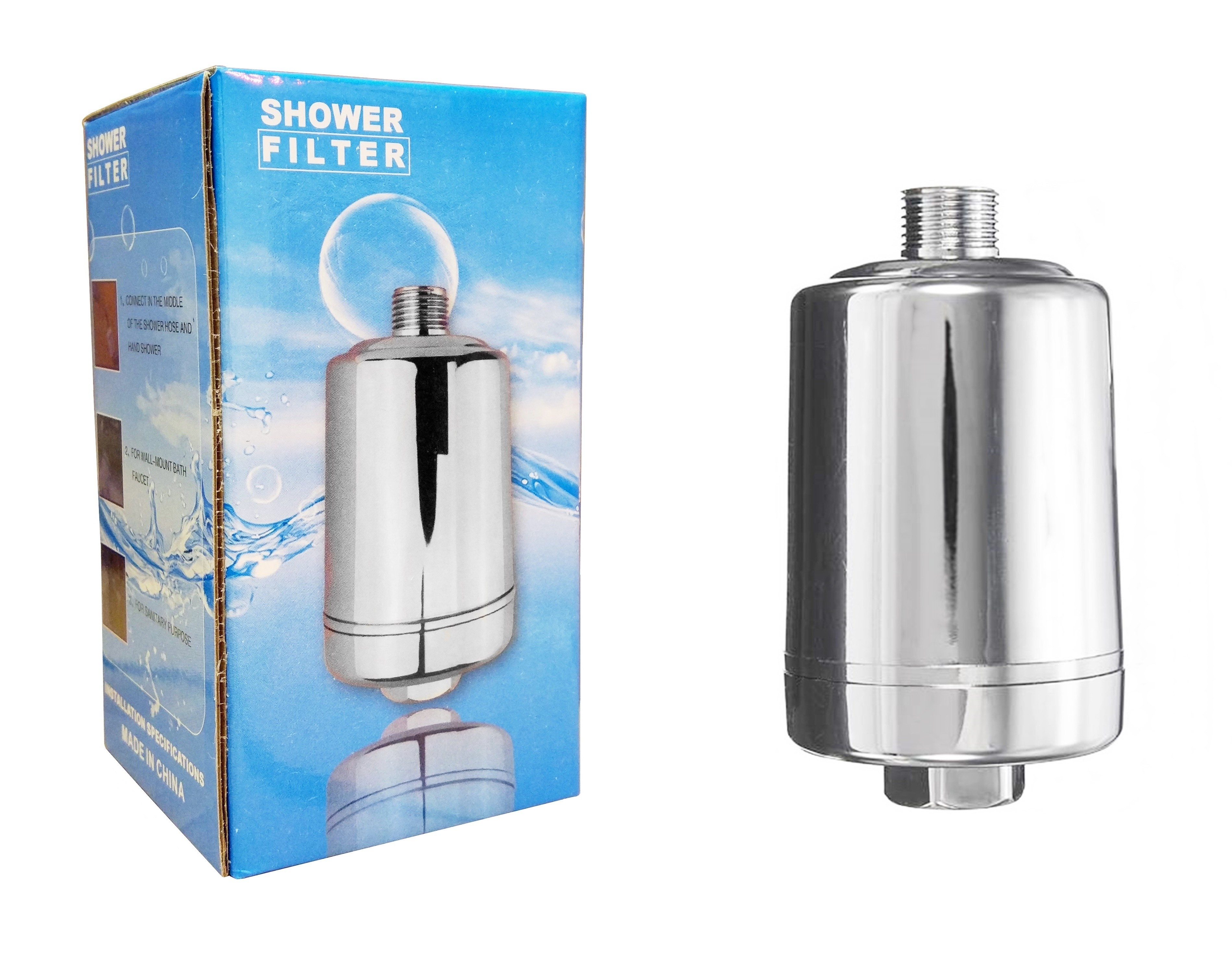 Finerfilters Shower Filter in Chrome