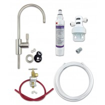 3M DIY Kit with Brushed Nickel Tap