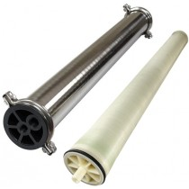 Spectrum WW-4040 Window Wash Reverse Osmosis Membrane Element & Spectrum WWH-4040 Stainless Steel Membrane Housing Set
