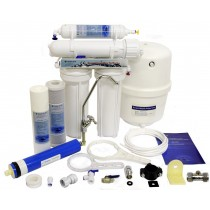 Domestic Undersink 4 Stage Reverse Osmosis System With Fluoride Removal (50 GPD)