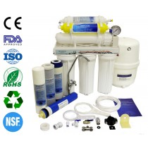 Finerfilters Domestic Undersink 6 Stage Reverse Osmosis System With Fluoride Removal (50 GPD)