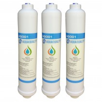 Aqua Quality Undersink Replacement Water Filters (3 Pack)