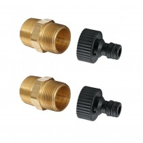 "Garden Tap Hose Connector Fittings for ¾"" Systems"