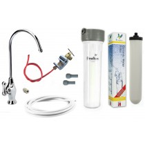 Cryptosporidium Removal Supercarb Under-sink Drinking Water System with Duluxe Long Reach Tap
