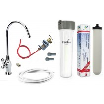 Cryptosporidium Removal Ultracarb Under-sink Drinking Water System with Deluxe Long Reach Tap