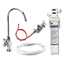 3M Drinking Water Filter Kit (Bacteria Rated Filter) Full DIY System with Deluxe Long Reach Tap