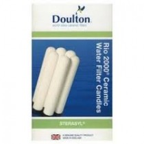 Doulton Rio Replacement Pack Of 6 Ceramic Filters