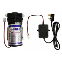 Finerfilters E-Chen 50GPD Reverse Osmosis RO Booster Pump