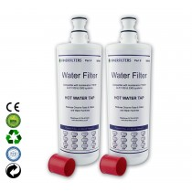 Finerfilters F-701R Hot Water Filter Compatible With Insinkerator 2 pack