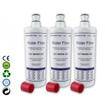 Finerfilters F-701R Water Filter Compatible With Insinkerator (3 Pack)