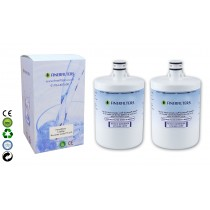 Finerfilters LT500P Fridge Water Filter Compatible With LG 2 pack