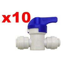 "Finerfilters 1/4"" PF Shut Off Valve (10 Pack)"