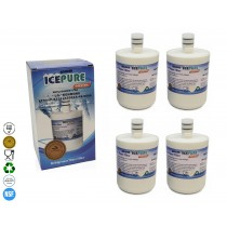 IcePure RWF0100A LG LT500P Compatible Fridge Water Filter (4 Pack)