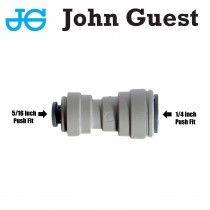"John Guest straight Reduce connector 1/4"" PF (quick connect) x 5/16"" PF"