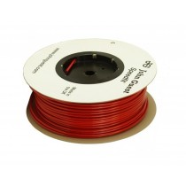 "John Guest 1/4"" LLDPE Tubing 150M Coil - Red"
