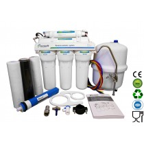 5 Stage EcoSoft Deluxe Domestic Reverse Osmosis Purification System With Pump