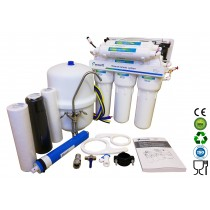 6 Stage EcoSoft Deluxe Domestic Reverse Osmosis Purification System With Pump