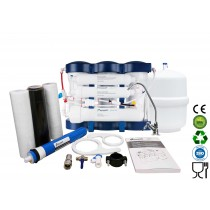 EcoSoft 6 Stage Sleek Modern Compact Design Domestic Reverse Osmosis System