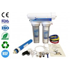 Finerfilters 3 Stage Aquarium  Reverse Osmosis Unit For Marine, Tropical and Discus Fish (75 GPD)