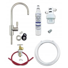 Deluxe Undersink Drinking Water Filter Kit with 1µm (1 Micron) Rated Finerfilters FC02 Filter & Choice of Tap