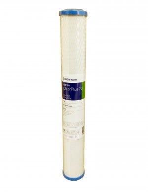 "Pentek CHLORPLUS 20"" 1 Micron Carbon Block Water Filter"