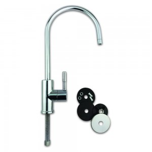Swan Neck Chrome RO & Water Filter Tap by Finerfilters
