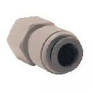John Guest Fitting - CI3212U7S 3/8 Push Fit x 7/16 Universal Female Tap Adaptor