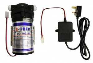 Finerfilters E-Chen 50GPD Reverse Osmosis RO Booster Pump