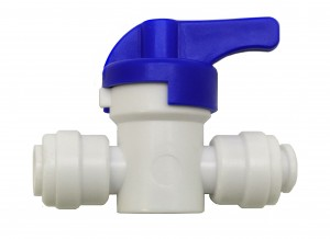 """Pack of 5 Finerfilters 1/4"""" PF Shut Off Valve"""