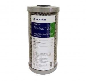 "Pentek FLOPLUS 10"" Jumbo 0.5 Micron Carbon Block Water Filter"