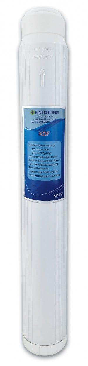 "Finerfilters 20"" x 2.5"" GAC/KDF Water Filter Cartridge"