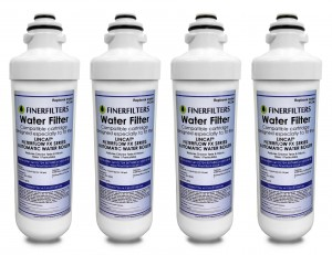 Finerfilters FC04 Water Filter compatible with all LINCAT FilterFlow FX Series of boilers (4 pack)