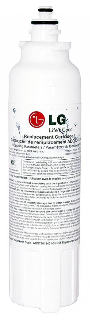 LG LT800P Genuine Fridge Water Filter for Model ADQ73613401-S