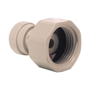 """John Guest PI451213S Speed Fit 3/8"""" BSP x 3/8"""" Push Fit Water Pipe Connector"""