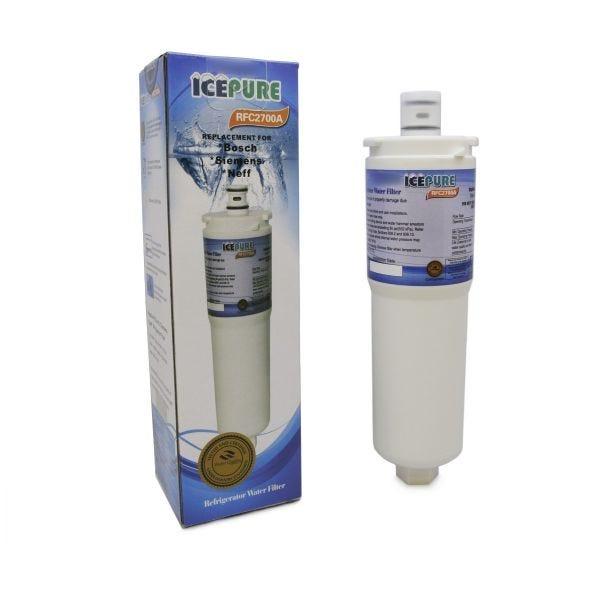 4 x Finerfilters Compatible CS52 Bosch Neff Siemens 640565 Fridge Water Filter