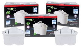 12 x FilterLogic FL-402H Water Filter Cartridge Compatible with Brita Maxtra™