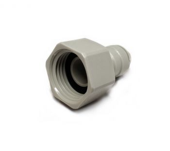 "Female BSP Tap to Push Fit Adapter ¦ ½"" BSP x ¼"" Push Fit ¦ DMFit AFAB0407C"