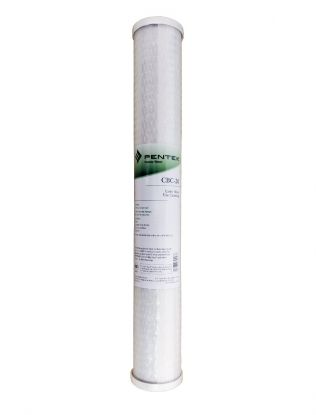 "Pentek CBC 20"" 0.5 Micron Carbon Block Water Filter"