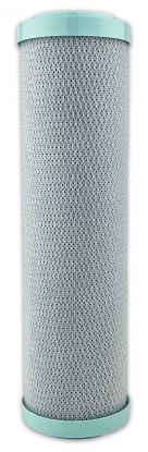 """Carbon Block Chloramine Reduction Water Filter ¦ 10"""" x 2.5"""" - 5 Micron ¦ Finerfilters"""