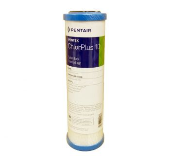 "Pentek CHLORPLUS 10"" 1 Micron Carbon Block Filter"