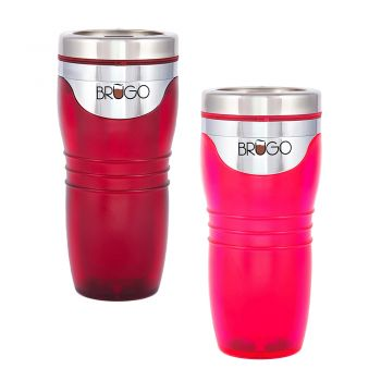 BruGo™ Travel Mugs - The Couples Pack 2