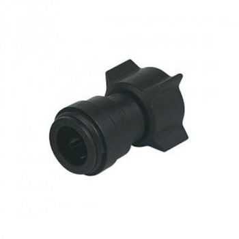 "Female BSP to Pushfit Tap Connector ¦ 1/2"" BSP x 15mm Pushfit ¦ DMFit ASUC1507M"