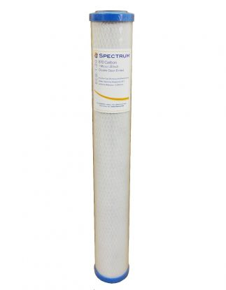 "Spectrum ECB 20"" Economic 1 Micron Carbon Block Water Filter"