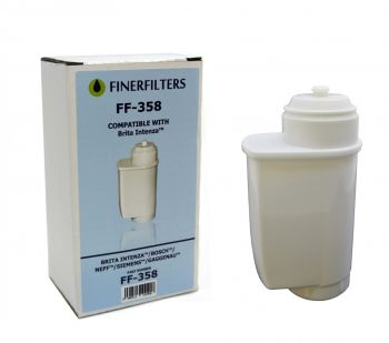 Finerfilters FF-358 Compatible Water Filter To Fit Brita Intenza Coffee Makers
